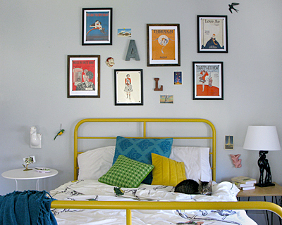 Day-lab-diy blog  Amy Shutts bedroom