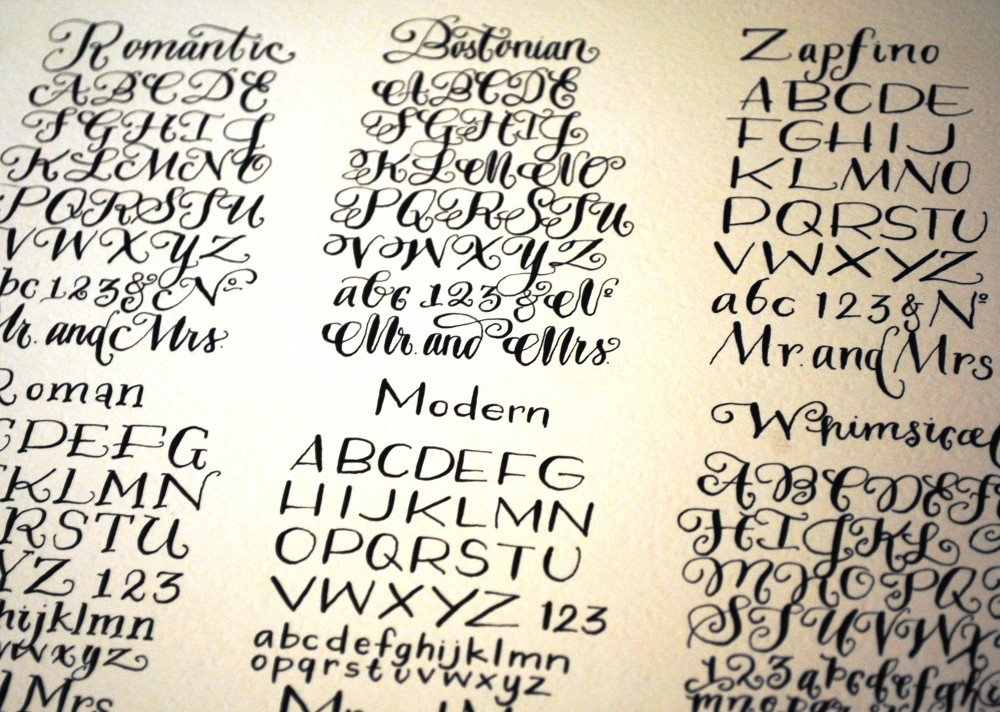 Calligraphy Lessons Domestikatedlife