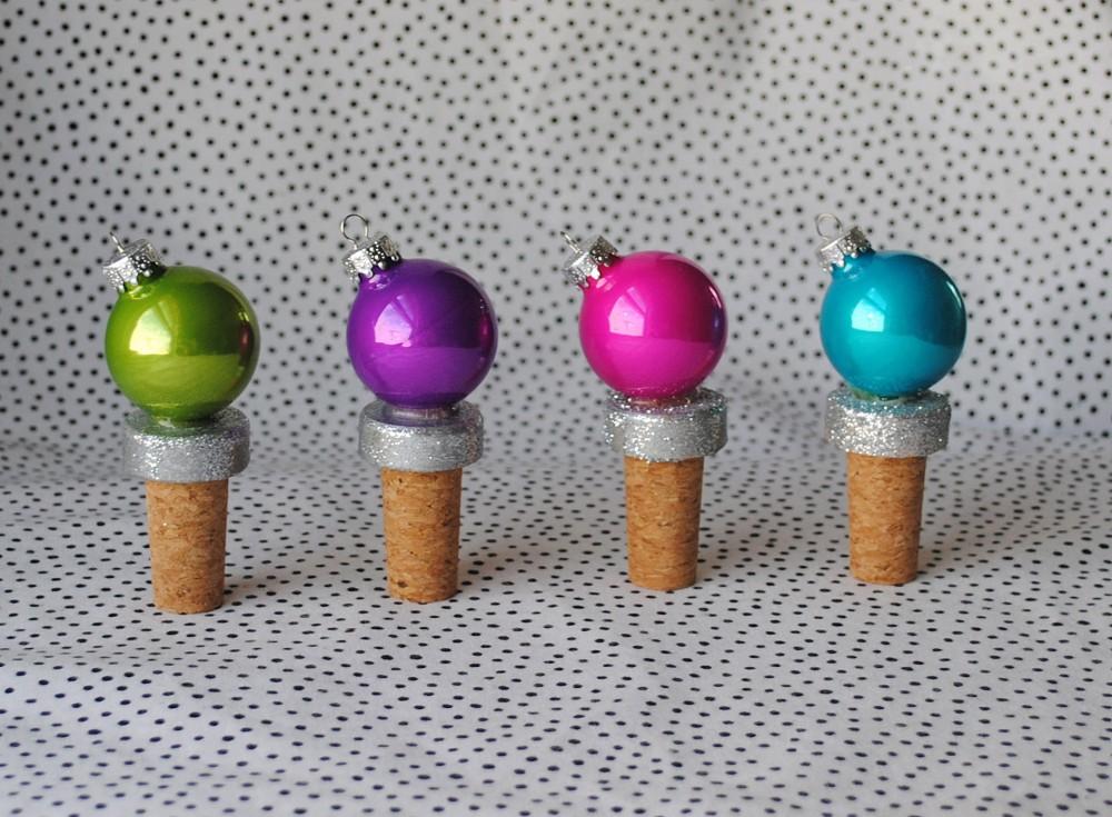 Handmade Holidays Festive Bottle Stoppers Domestikatedlife