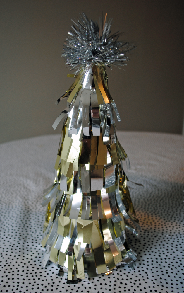 TINSEL TREE