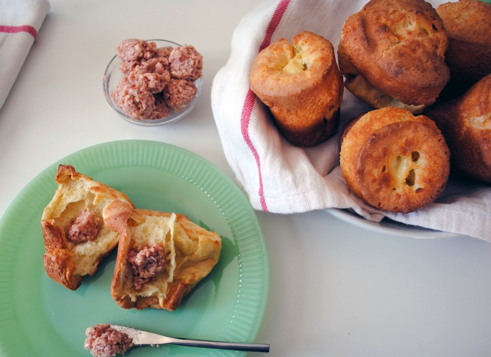 Popovers and Strawberry Butter. - DomestikatedLife