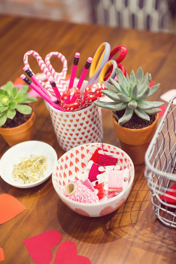 West Elm Valentines Day DIY Event DomestikatedLife