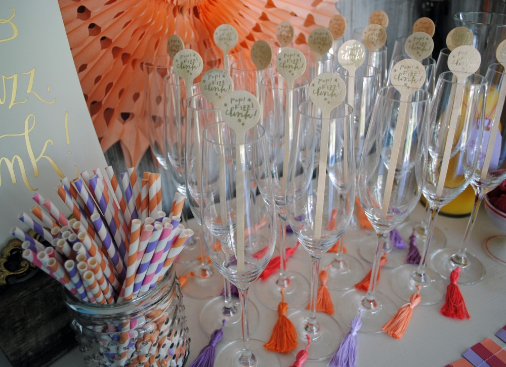 Modern Geometric Bridal Shower 10