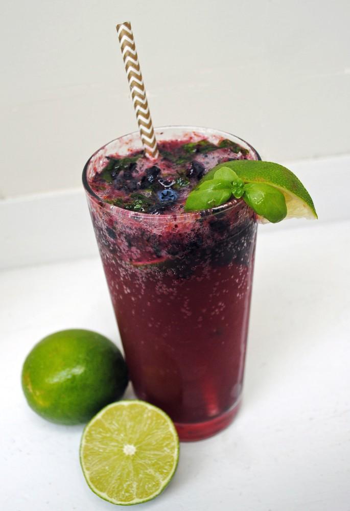 Blueberry Basil Smash _