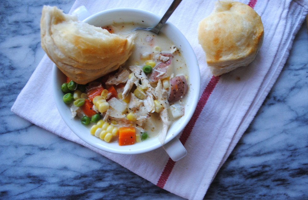 Chicken Pot Pie Soup 5