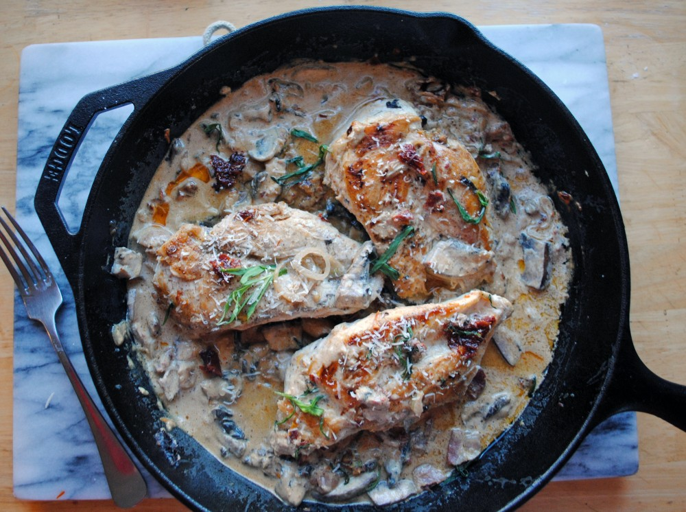 Creamy Sun Dried Skillet Chicken 3