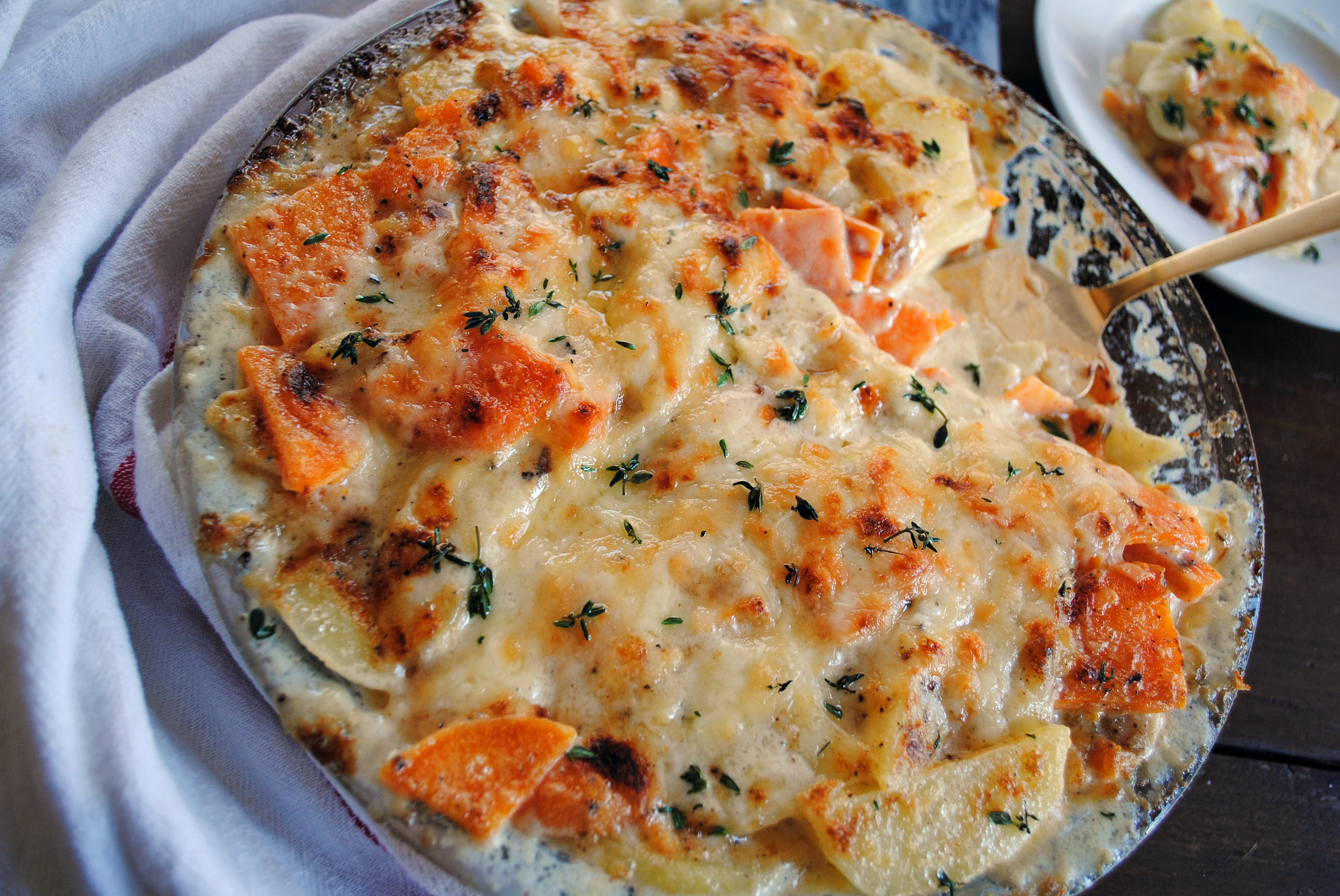 Mixed Potato Gratin 6