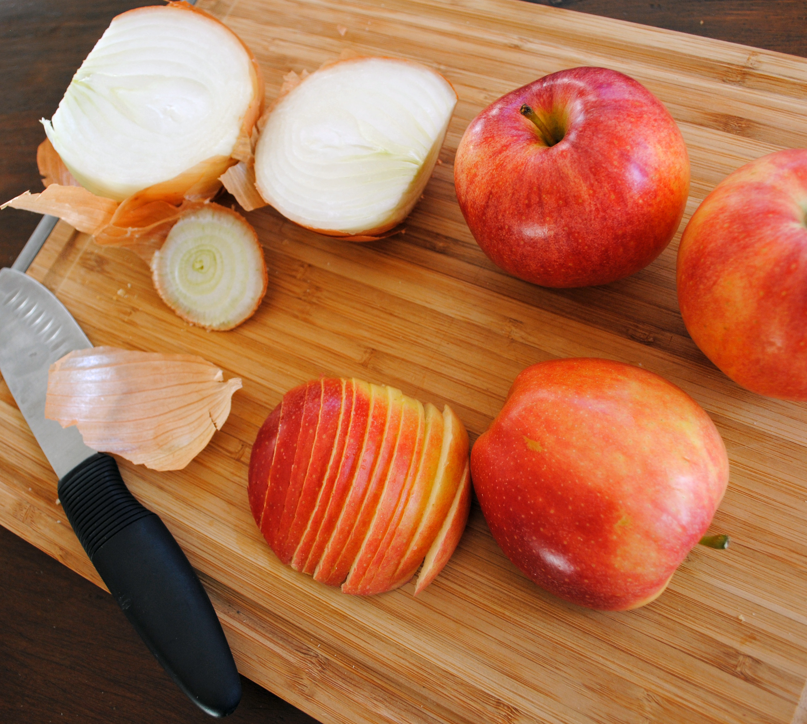 apple cornbread sausage stuffing 3