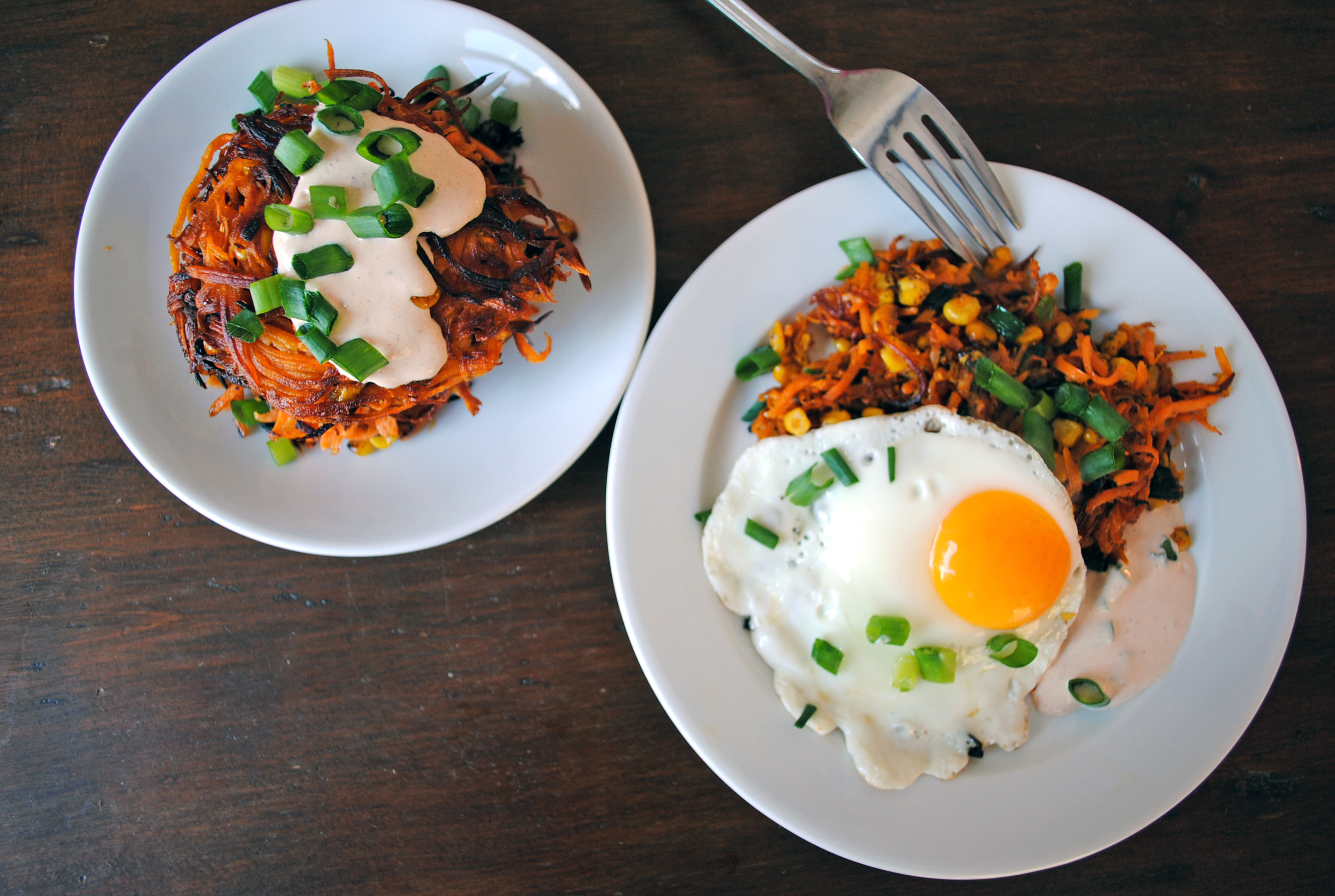 Sweet Potato Corn Cakes 5