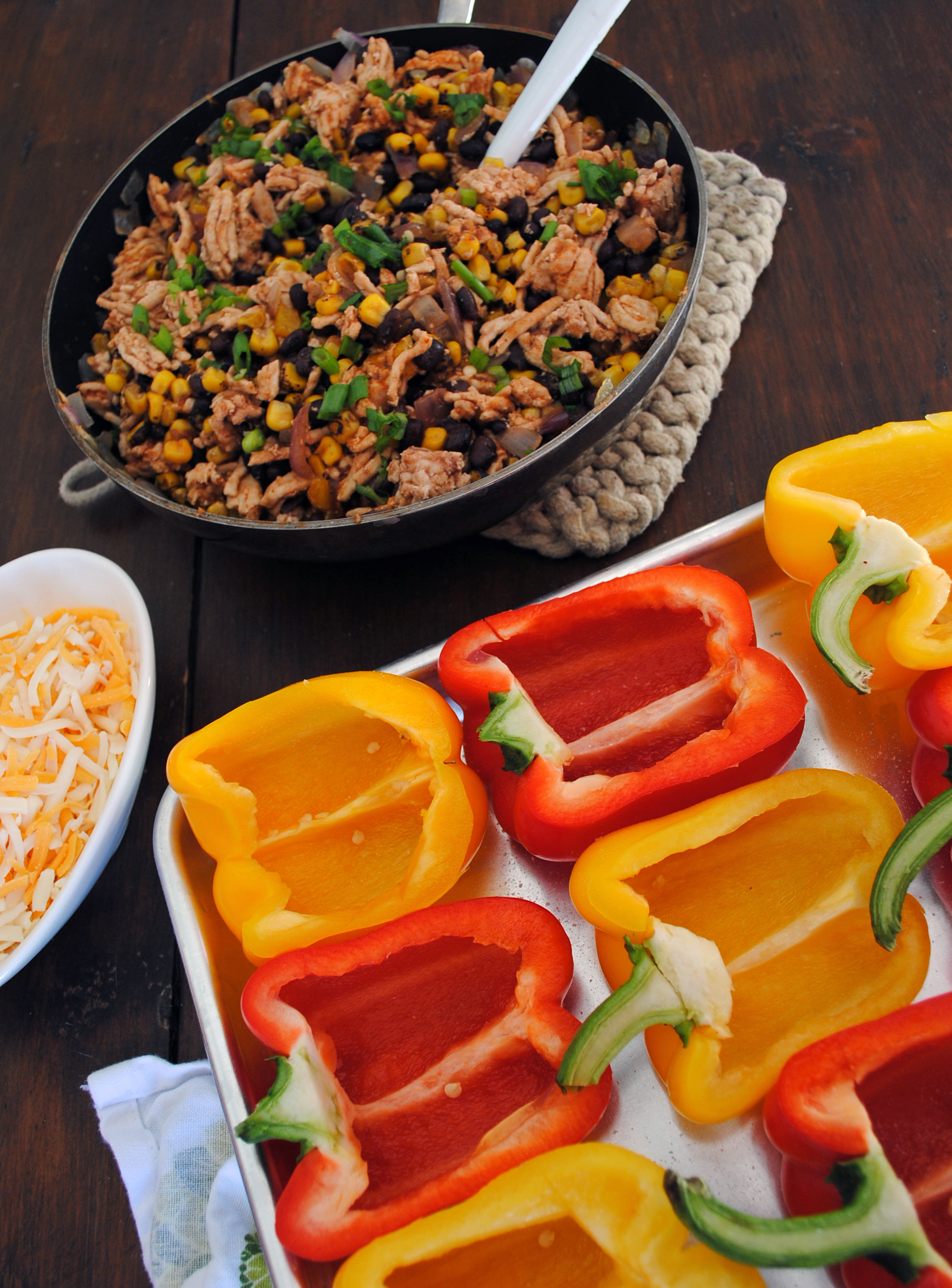 Turkey Taco Stuffed Peppers 2