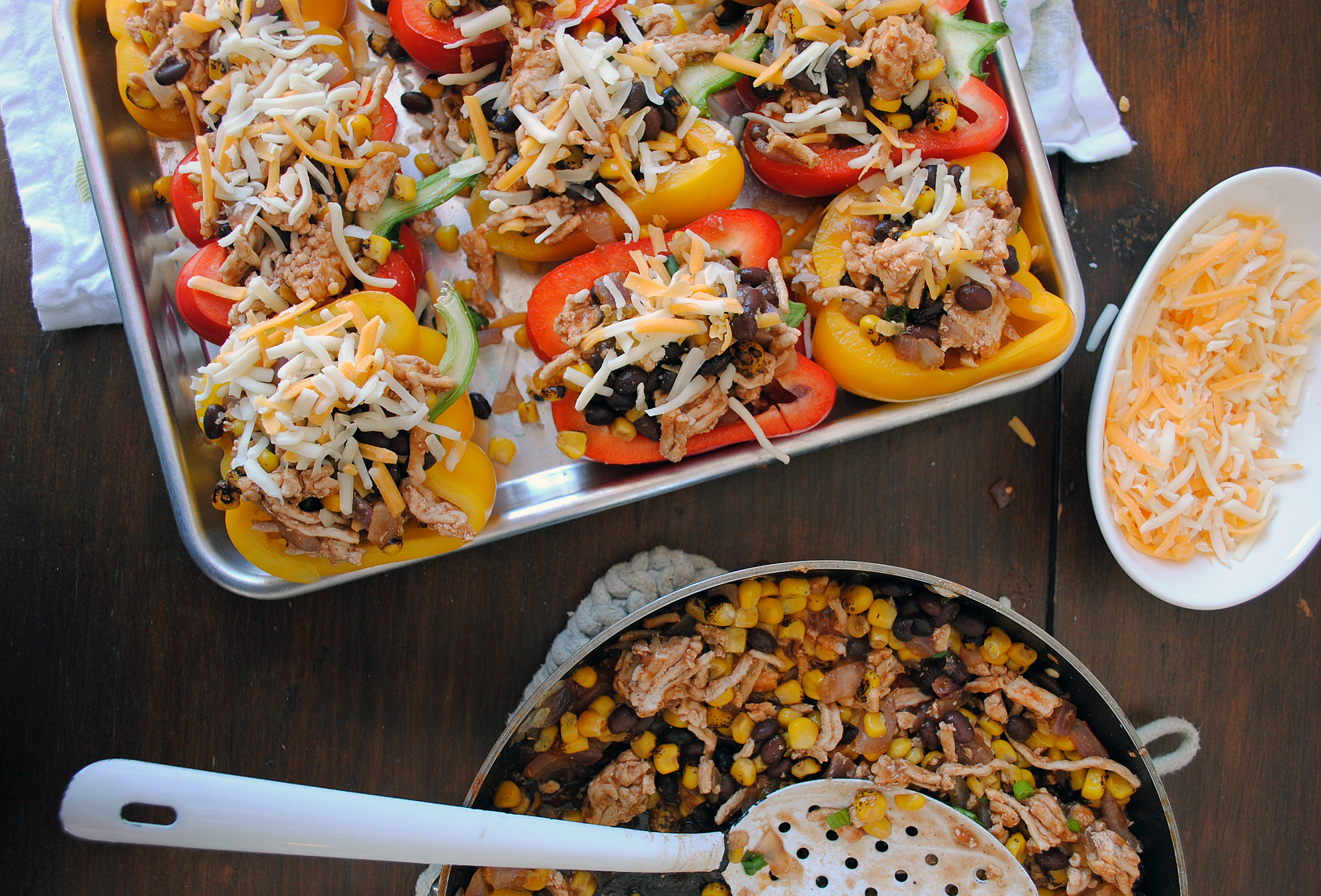 Turkey Taco Stuffed Peppers 3