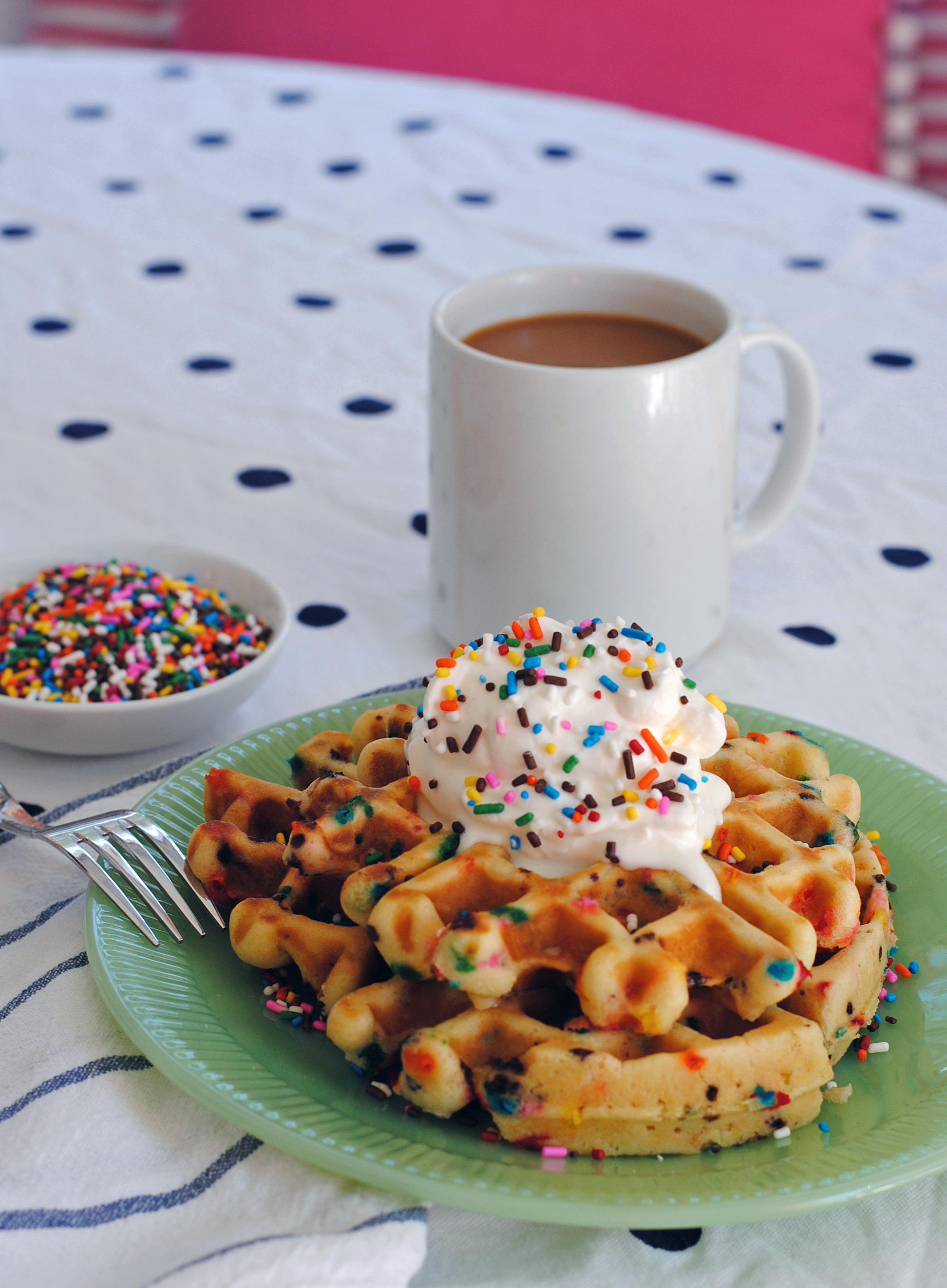 Funfetti Waffles 3