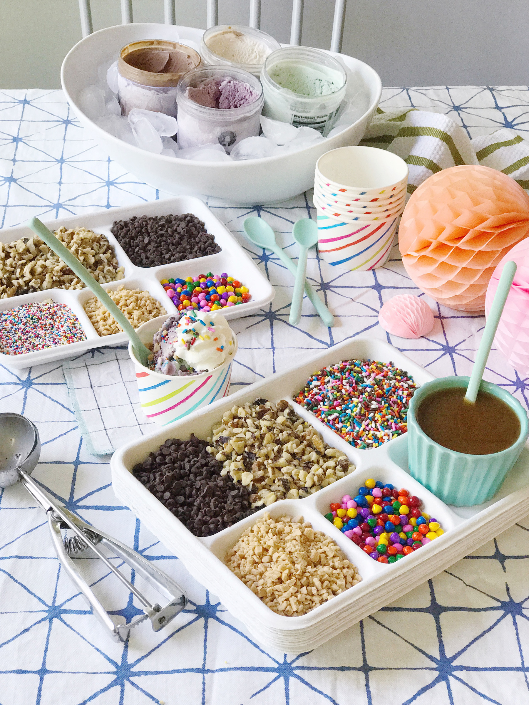 Display Your Toppings. Itu0027s Not A Sundae Without Tons Of Tasty Toppings! I  Love To See All Of The Pretty Sprinkles And Nuts And Candies Displayed For  A Big ...