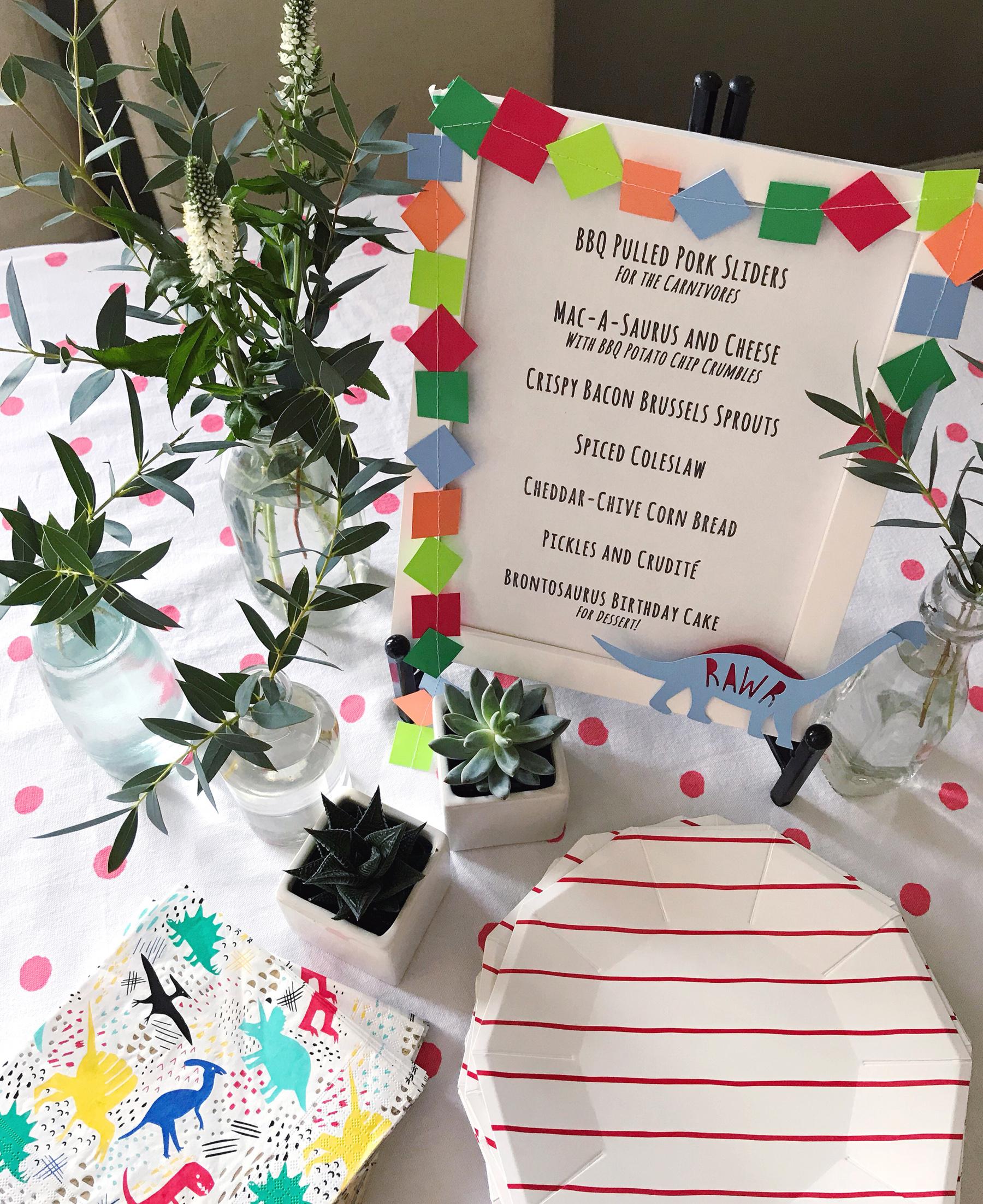 Janes First Birthday Party DomestikatedLife