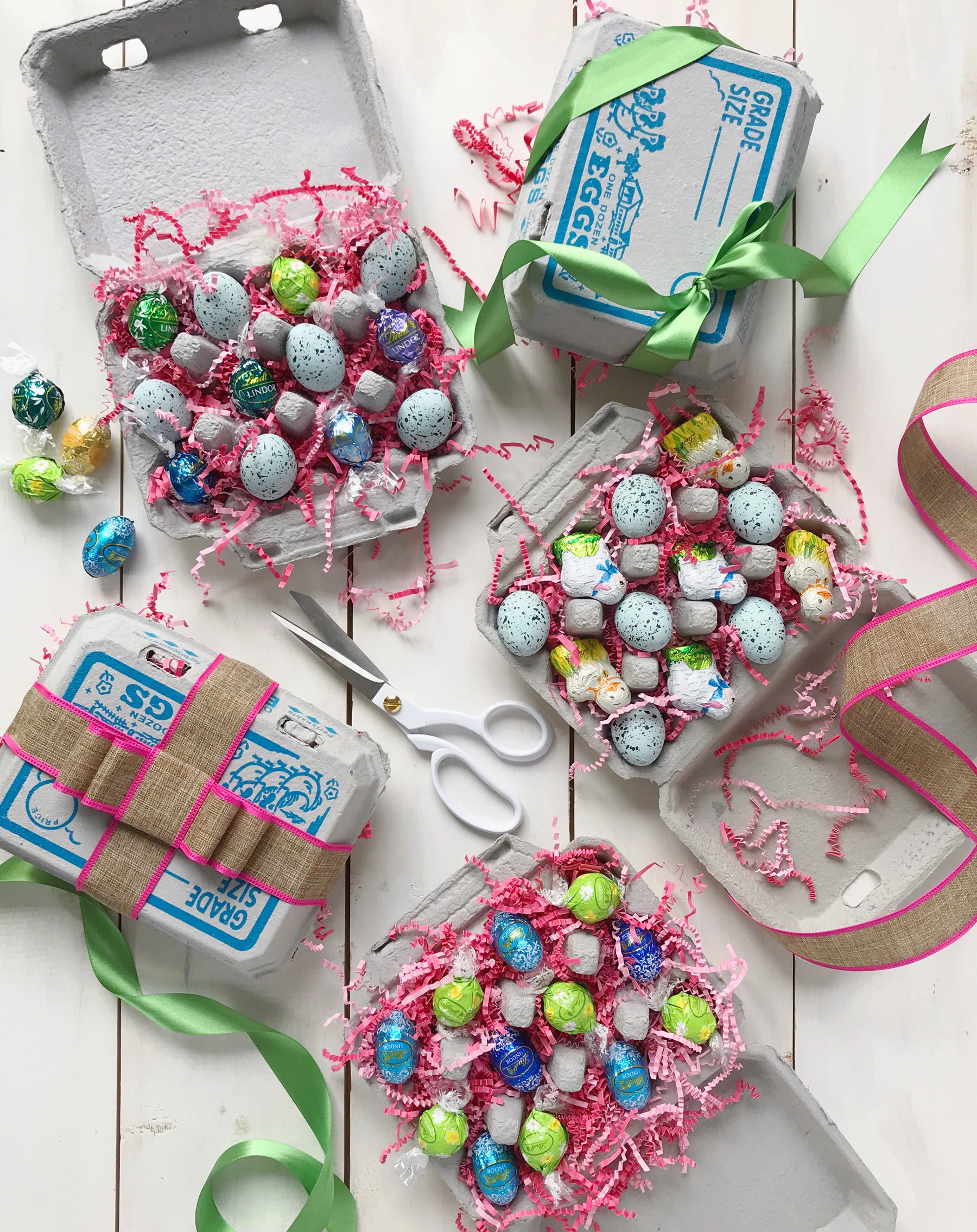 Easter hostess gifts domestikatedlife it would be cute to use these not only as hostess gifts but as easter gifts for kids and teens too in the kids version you could tuck in plastic eggs and negle Choice Image