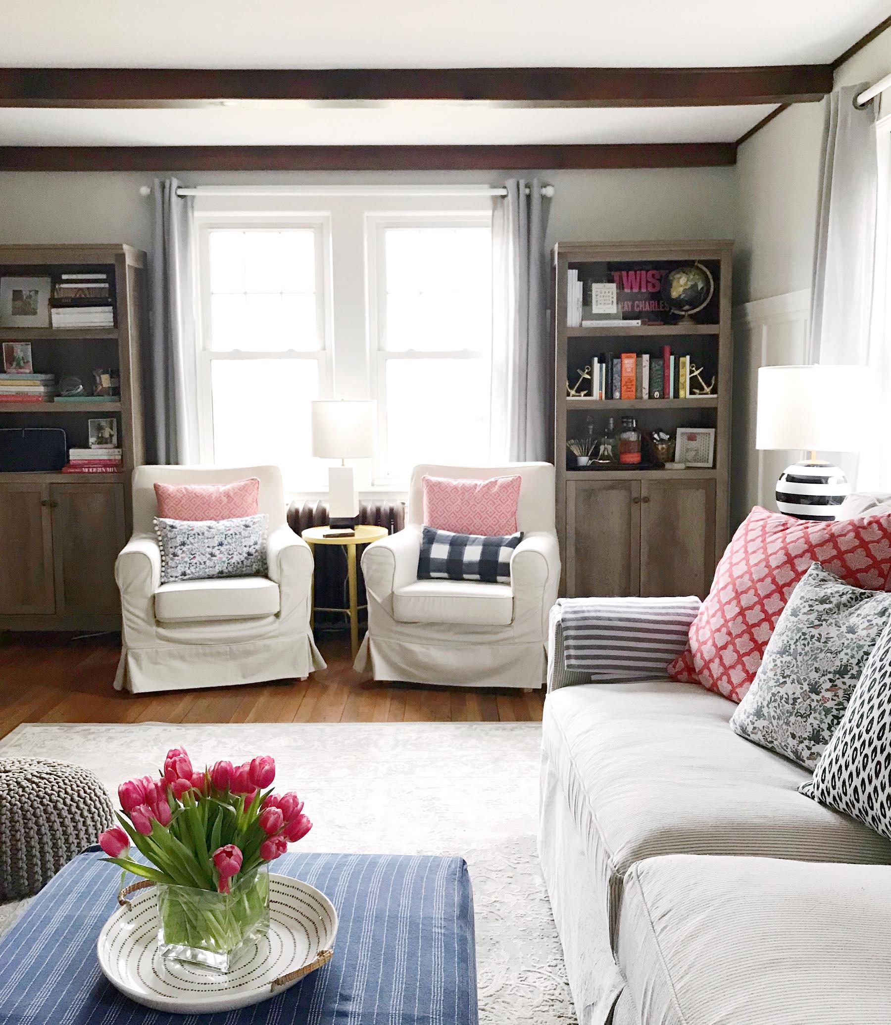 Living Room Makeover. - DomestikatedLife