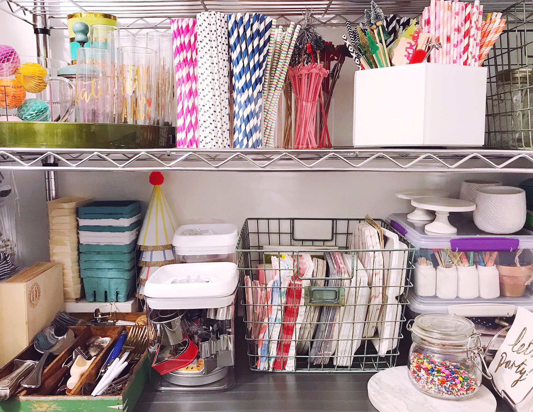 Perfect One Of The Big Selling Points Of Our House When We Still In The  House Hunting Phase, Was A Super Long Walk In Closet That Sits Off The  Kitchen In Our ...