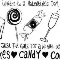 Valentine's Day Invites.