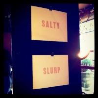 Salty prints.