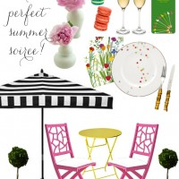 Summer Entertaining Essentials with Sequins & Stripes.