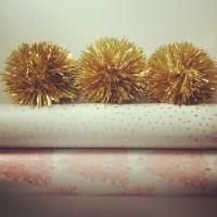 Macarons & Tinsel.