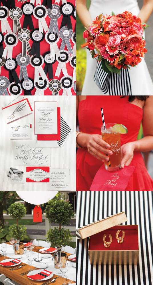 Martha Stewart Weddings Race Track