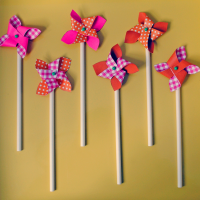 Pinwheel Cocktail Stirrers.