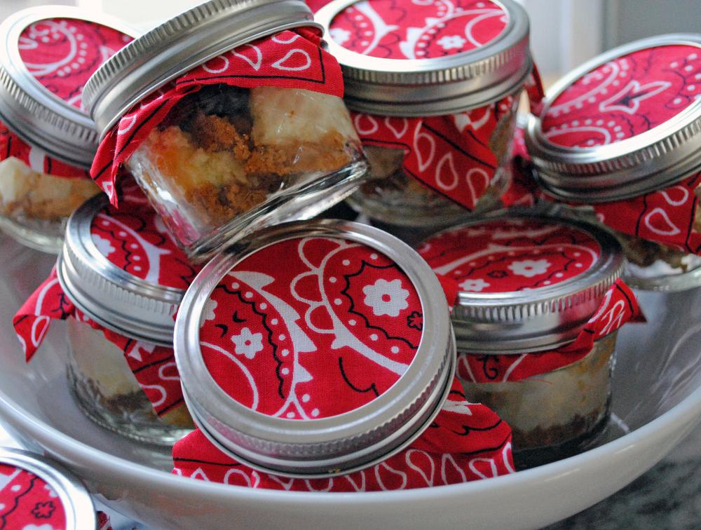 Frozen Cheesecake Jars 1