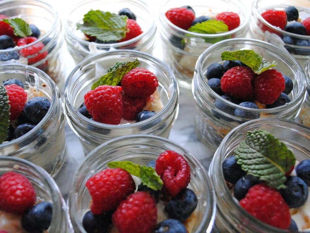 Frozen Cheesecake Jars 5