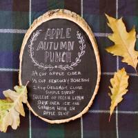 Autumn Apple Punch.