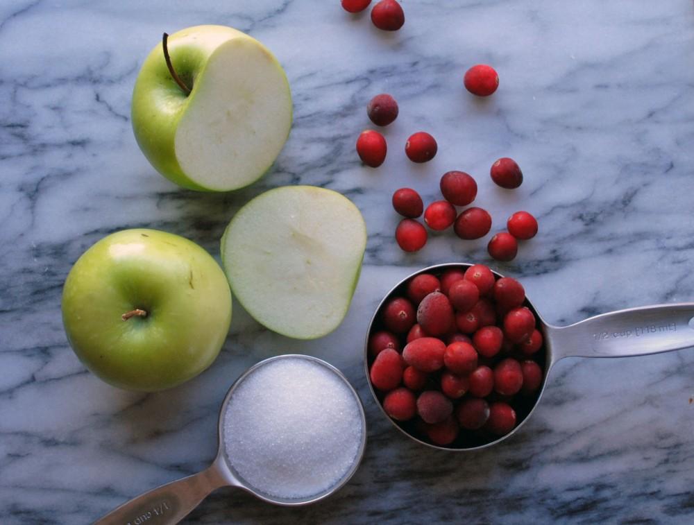 Cran-Apple Simple Syrup 1