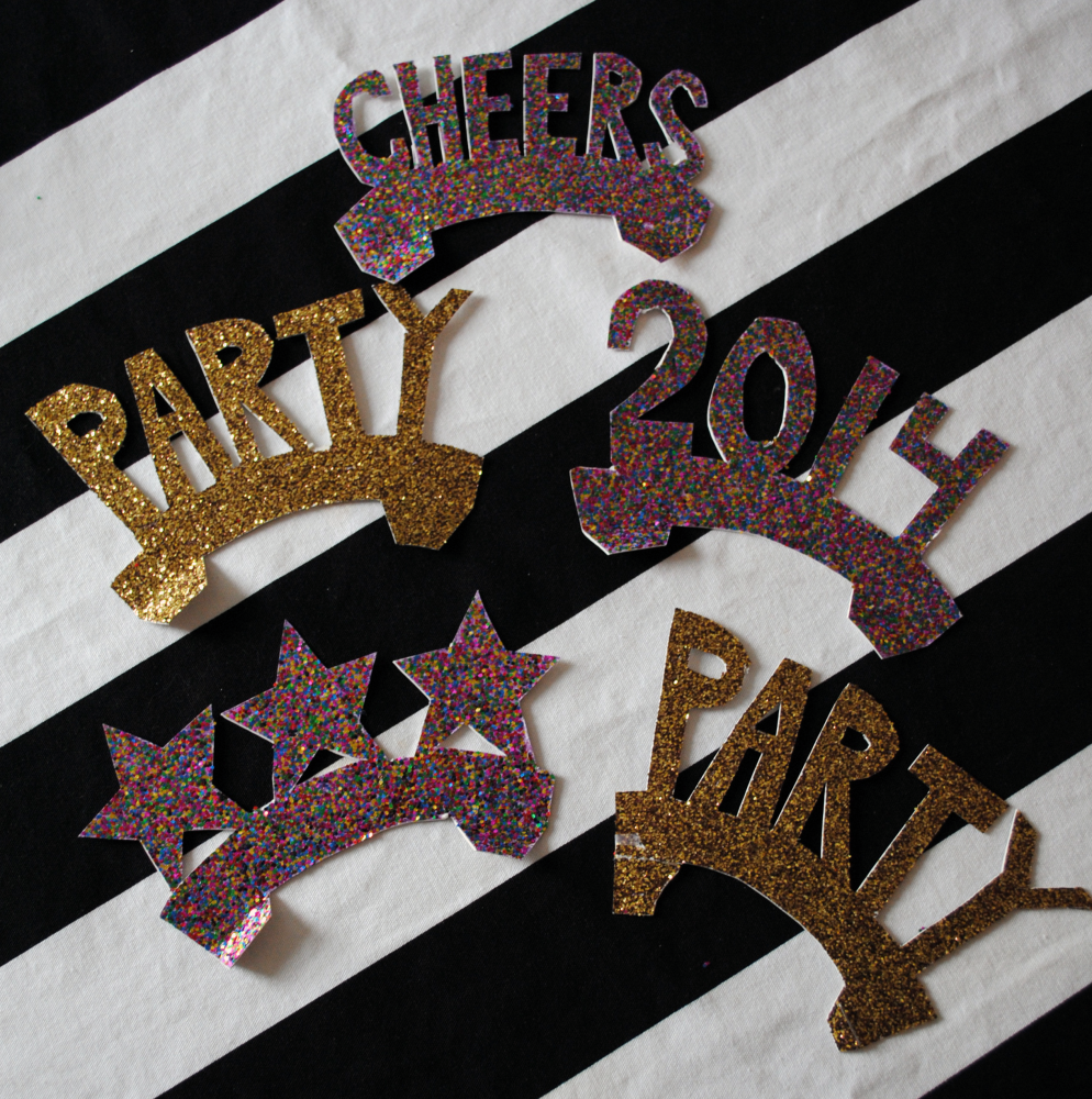 Homemade New Year S Eve Party Crowns Domestikatedlife