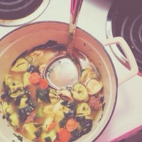 Homemade soup.