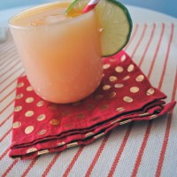Orange Mango Margaritas.