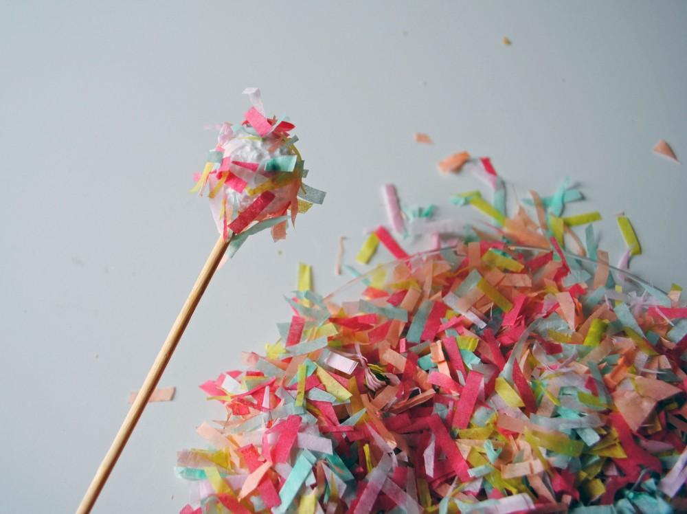Confetti Drink Stirrers 3