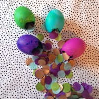 Confetti Easter Eggs.