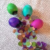 Confetti Easter Eggs.