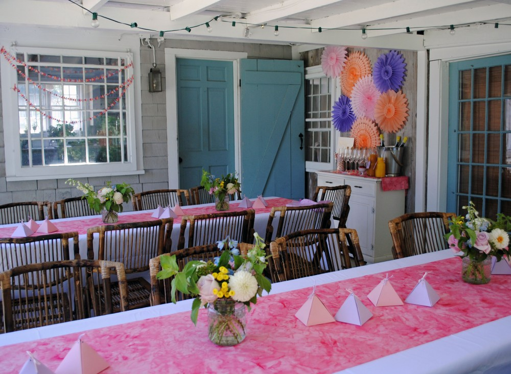 Modern Geometric Bridal Shower 5