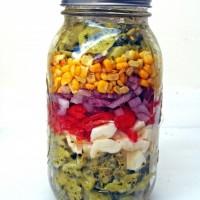Mason Jar Salads.