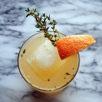 Grapefruit Thyme Punch.