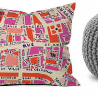 Pillows, Poufs, and Throws with Wayfair.