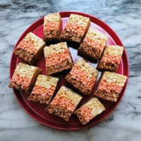 Neapolitan Rice Krispy Treats.