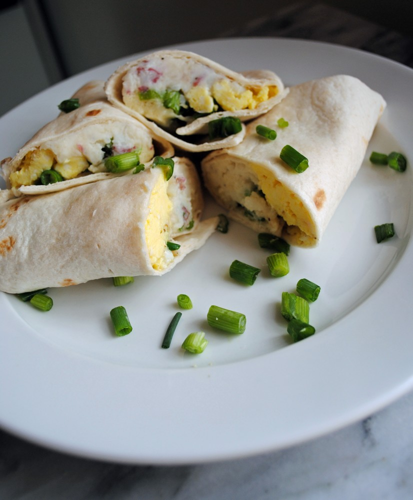 Mashed Potato Breakfast Burrito 6