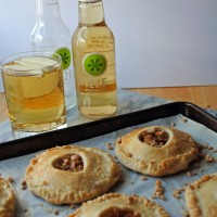 Green Apple Toffee Pie-lets.
