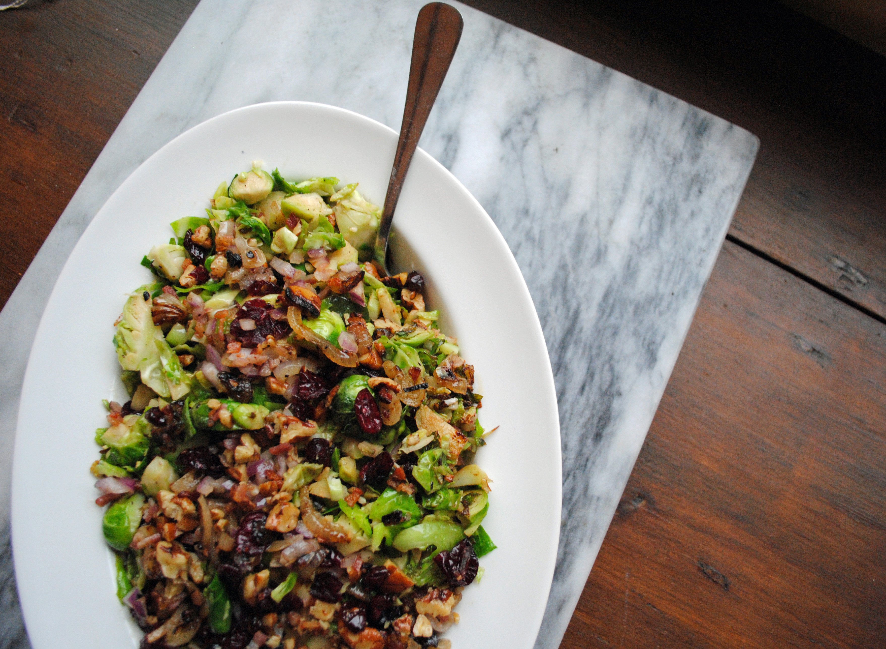 Brussel Sprout Salad 1