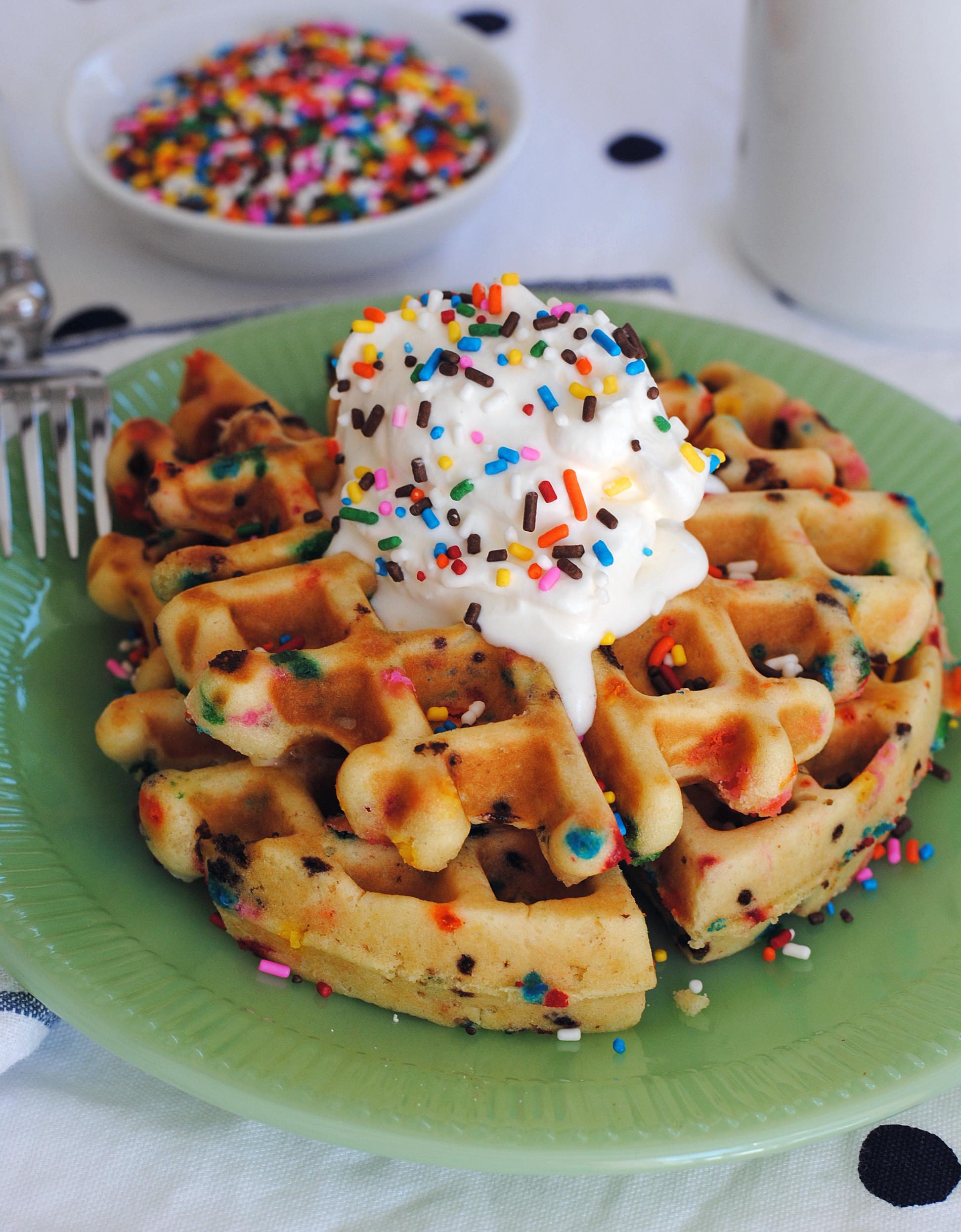 Funfetti Waffles 4