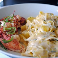 Narragansett Lobster Fettucini.