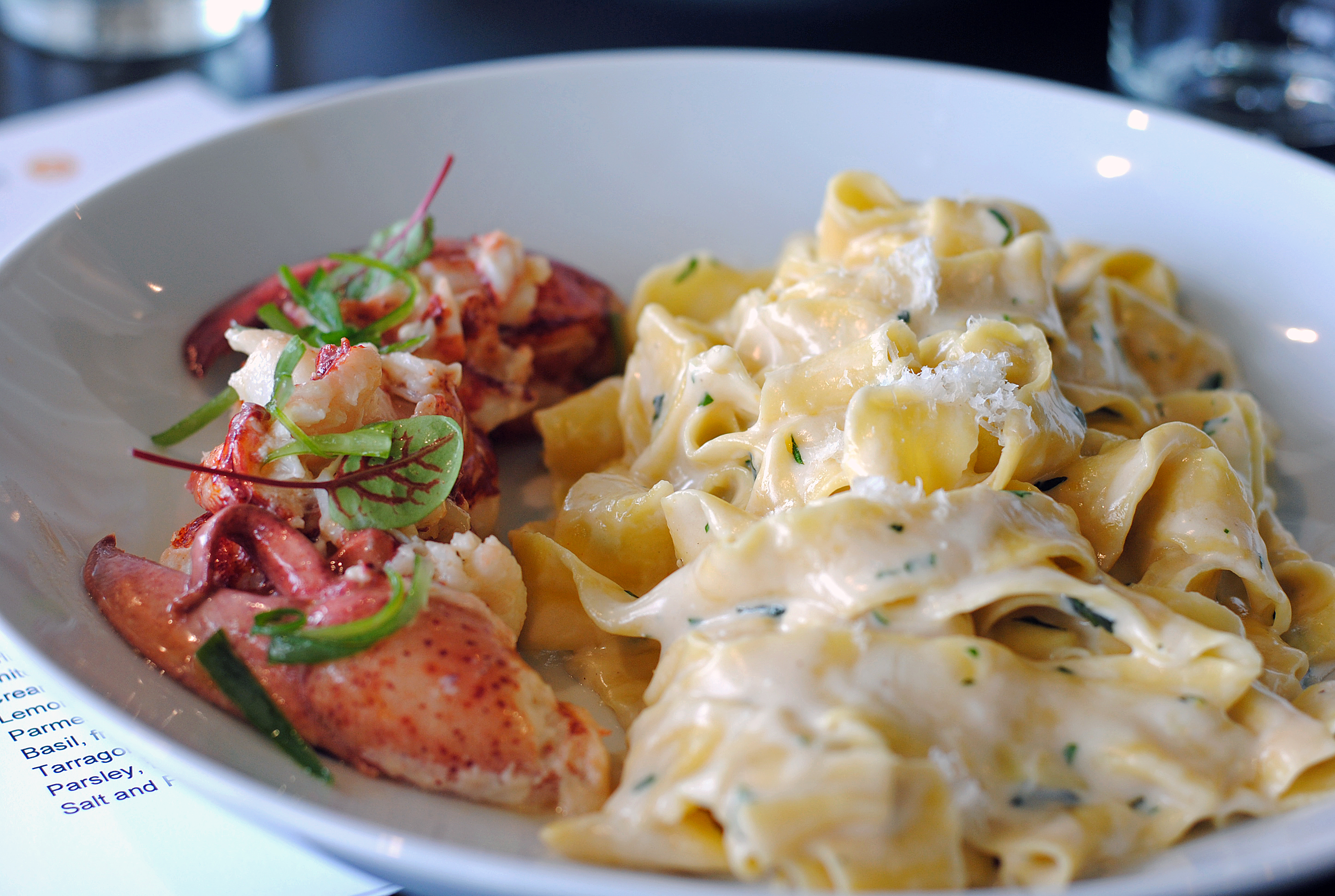 Lobster Fettucini 8