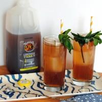 Iced Tea Lemonade Mint Julep.