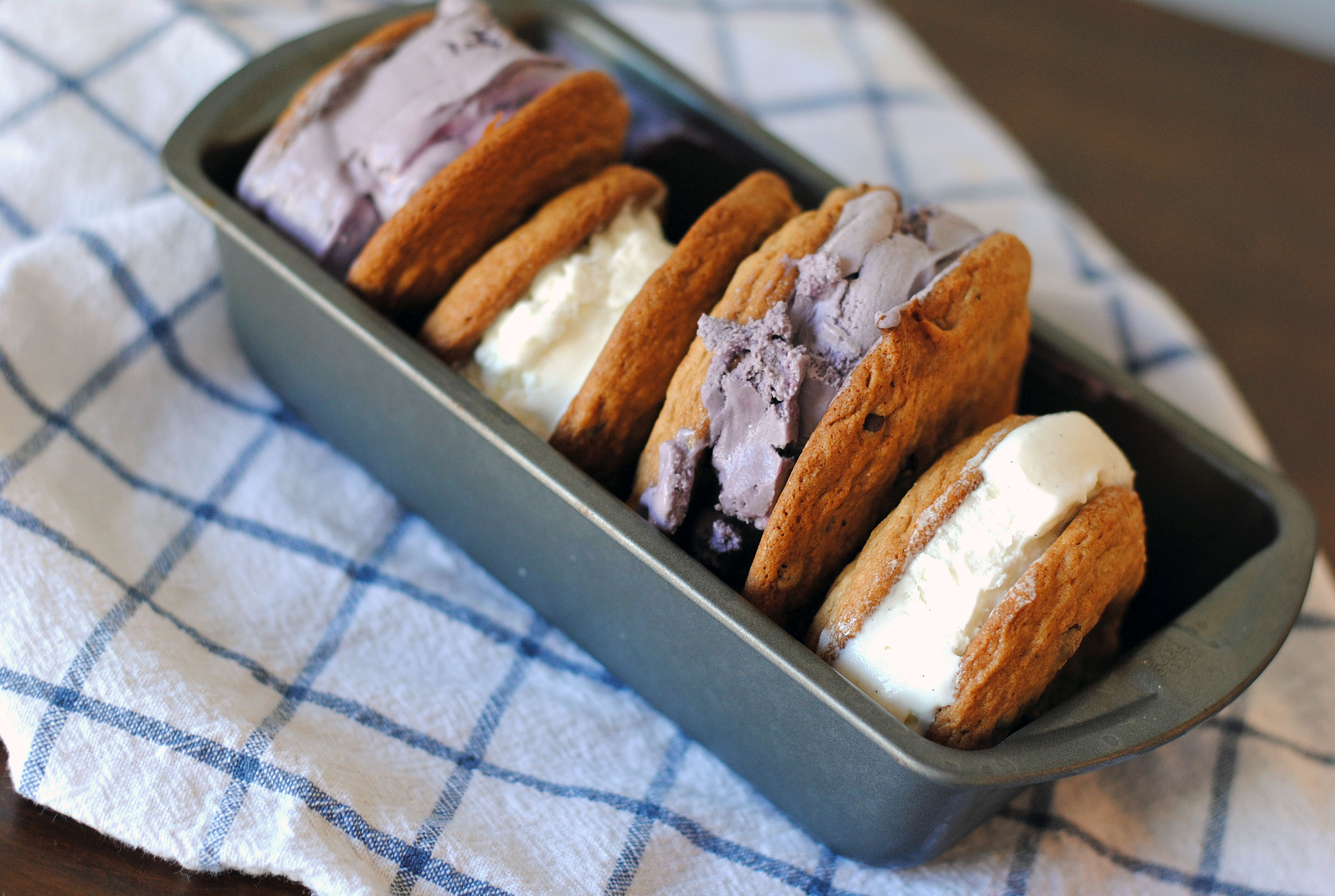 salted caramel ice cream sandwich 6